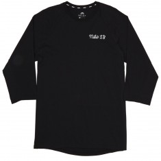 Nike SB GFX 3/4 Sleeve T-Shirt - Black/Black/White