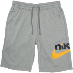 Nike SB Dry Shorts - Dark Grey Heather/Orange