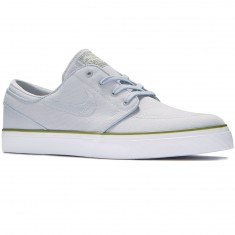 Nike Zoom Stefan Janoski Canvas Shoes - Wolf Grey/Wolf Grey/Palm Green