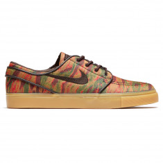 c17637863918 Nike SB Zoom Stefan Janoski Canvas Premium Shoes - Multi Color Velvet Brown