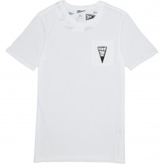 Nike SB Triangle T-Shirt - White/Black