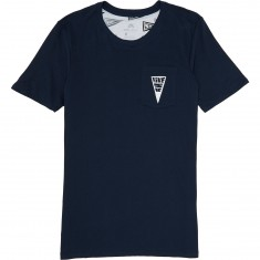 Nike SB Triangle T-Shirt - Obsidian/White