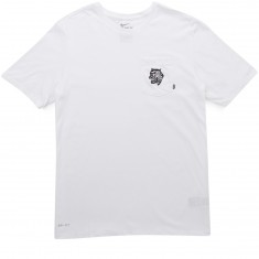 Nike SB Tiger Pocket T-Shirt - White/White/Black