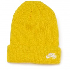 Nike SB Fisherman Beanie - Tour Yellow/White