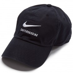 Nike SB H86 Hat - Black/Black/White