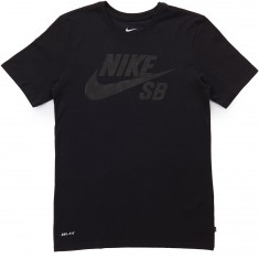 Nike SB Logo T-Shirt - Black/Grey