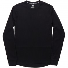 Nike SB Long Sleeve Thermal Shirt - Black/Black