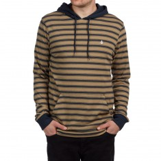 Volcom Briggs Longsleeve Hooded Shirt - Sand Brown