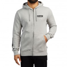 Volcom Supply Stone Zip Up Hoodie - Grey