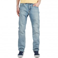 Volcom Kinkade Tapered Jeans - Angled Bleach Wash