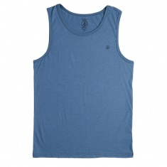 Volcom Solid Heather Tank Top - Wrecked Indigo