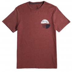 Volcom Over Ride T-Shirt - Crimson