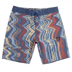 "Volcom Lo Fi Stoney 19"" Boardshorts - Surf Spray/Blue Heather"