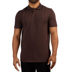 Volcom X Kyle Walker Polo Shirt - Plum