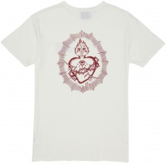 Loser Machine Skatecred Heart T-Shirt - Antique White