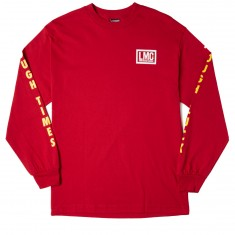 Loser Machine Tough Times Longsleeve T-Shirt - Cardinal