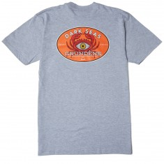 Dark Seas X Grundens Expedition T-Shirt - Heather Grey