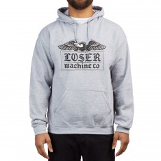 Loser Machine Foothold Hoodie - Heather Grey