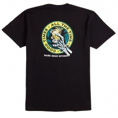 Dark Seas Lounge Time T-Shirt - Black