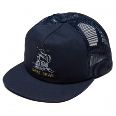 Dark Seas Dryden Hat - Navy