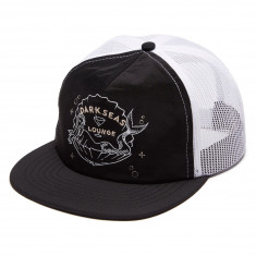 Dark Seas ShanghaiD Tucker Hat - Black