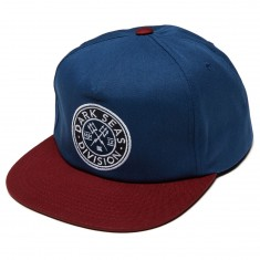 Dark Seas Journeyman Hat - Navy/Red