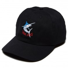 Dark Seas Billfish Hat - Black