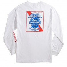 Loser Machine X PBR Established Long Sleeve T-Shirt - White