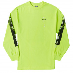 Loser Machine Last Ride Long Sleeve T-Shirt - Safety Green