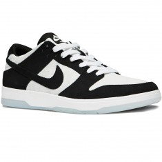 Nike SB Oski Zoom Dunk Low Elite QS Shoes - Black/Black/White/Clear