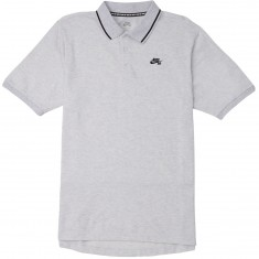 Nike SB Dry Polo Shirt - Birch Heather/Black