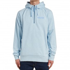 Nike SB Dry Everett Hoodie - Chambray Blue Heather/Light Blue