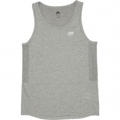 Nike SB Dry Skyline Tank Top - Dark Grey Heather/White