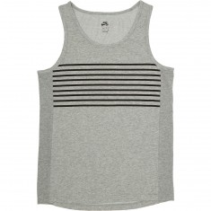 Nike SB Dry Tank Top - Dark Grey Heather/Black