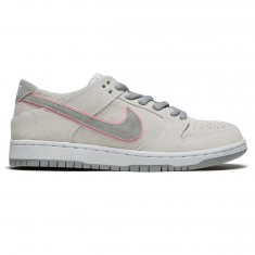 Nike Dunk Low Pro Ishod Wair Shoes - White/Pefect Pink/Silver