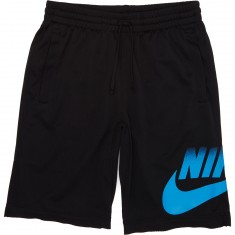 Nike SB Dry Shorts - Black/Light Photo Blue