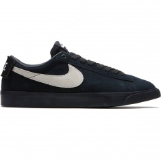 Nike SB Air Zoom Blazer Low GT Black Blocks Shoes - Black/White/Black