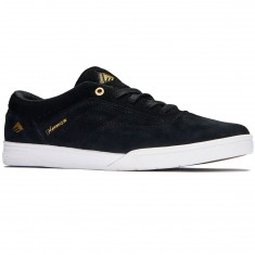 Emerica The Herman G6 Shoes - Black/White/Gold