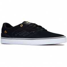 Emerica The Reynolds Low Vulc Shoes - Black/White