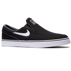 Nike Zoom Stefan Janoski Slip-On Shoes - Black/Black/White