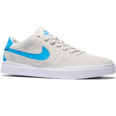 Nike SB Bruin Hyperfeel Shoes - White/White/Blue