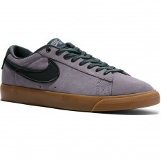 Nike Blazer Low GT Shoes - Gunsmoke/Black Spruce/Gum Light Brown