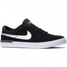 Nike SB Koston Hypervulc Shoes - Black/Dark Grey/White