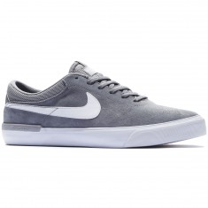 Nike SB Koston Hypervulc Shoes - Cool Grey/Wolf Grey/White