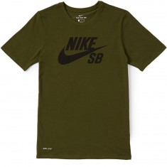 Nike SB Logo T-Shirt - Legion Green/Black