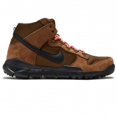 Nike SB Dunk High Boot Shoes - Military Brown/Black/Dark Khaki
