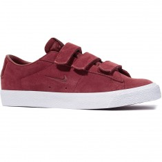 Nike SB X Numbers Zoom Blazer Low AC QS Shoes - Red/Red/White