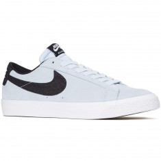 Nike SB Air Zoom Blazer Low Shoes - Hydrogen Blue/Black/White