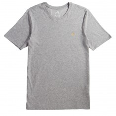 Nike SB Dri-Fit Script T-Shirt - Dark Grey Heather/Mineral Gold
