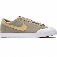 Nike SB Zoom All Court CK Shoes - Khaki/Mushroom/White